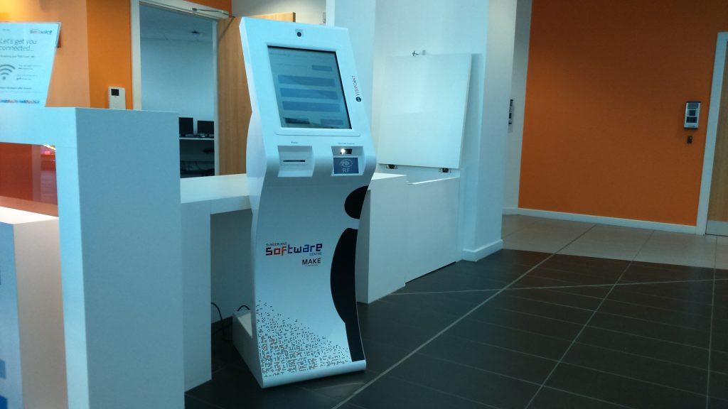 Sunderland Software Centre VisiPoint Kiosk