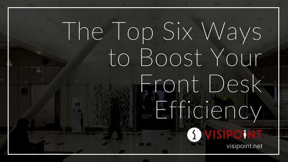 Front Desk Efficiency