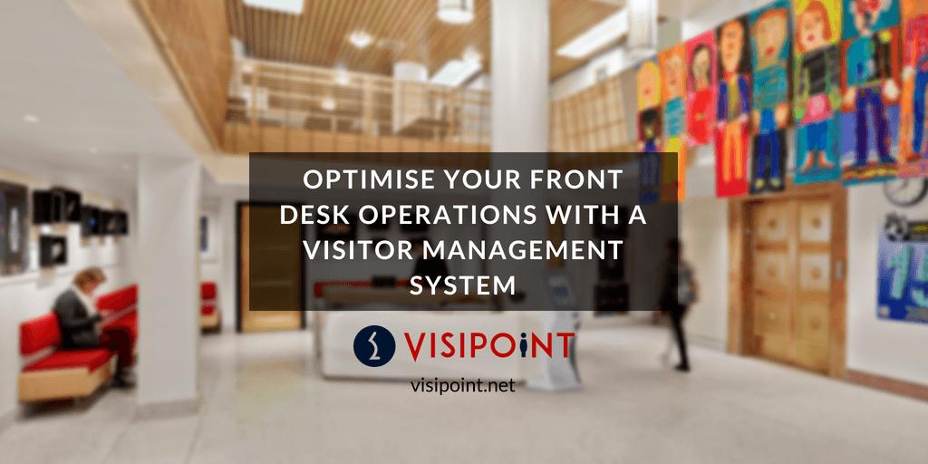 optimise front desk operations