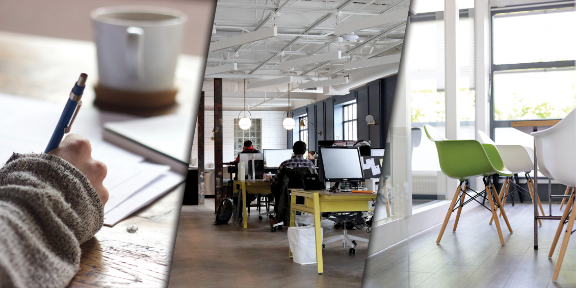 Six great office design ideas to inspire you