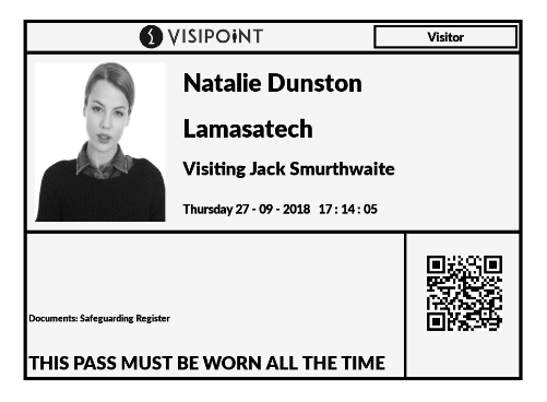 VisiPoint Photo ID Badge