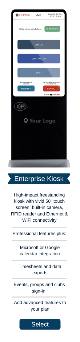 Enterprise Plan + Kiosk
