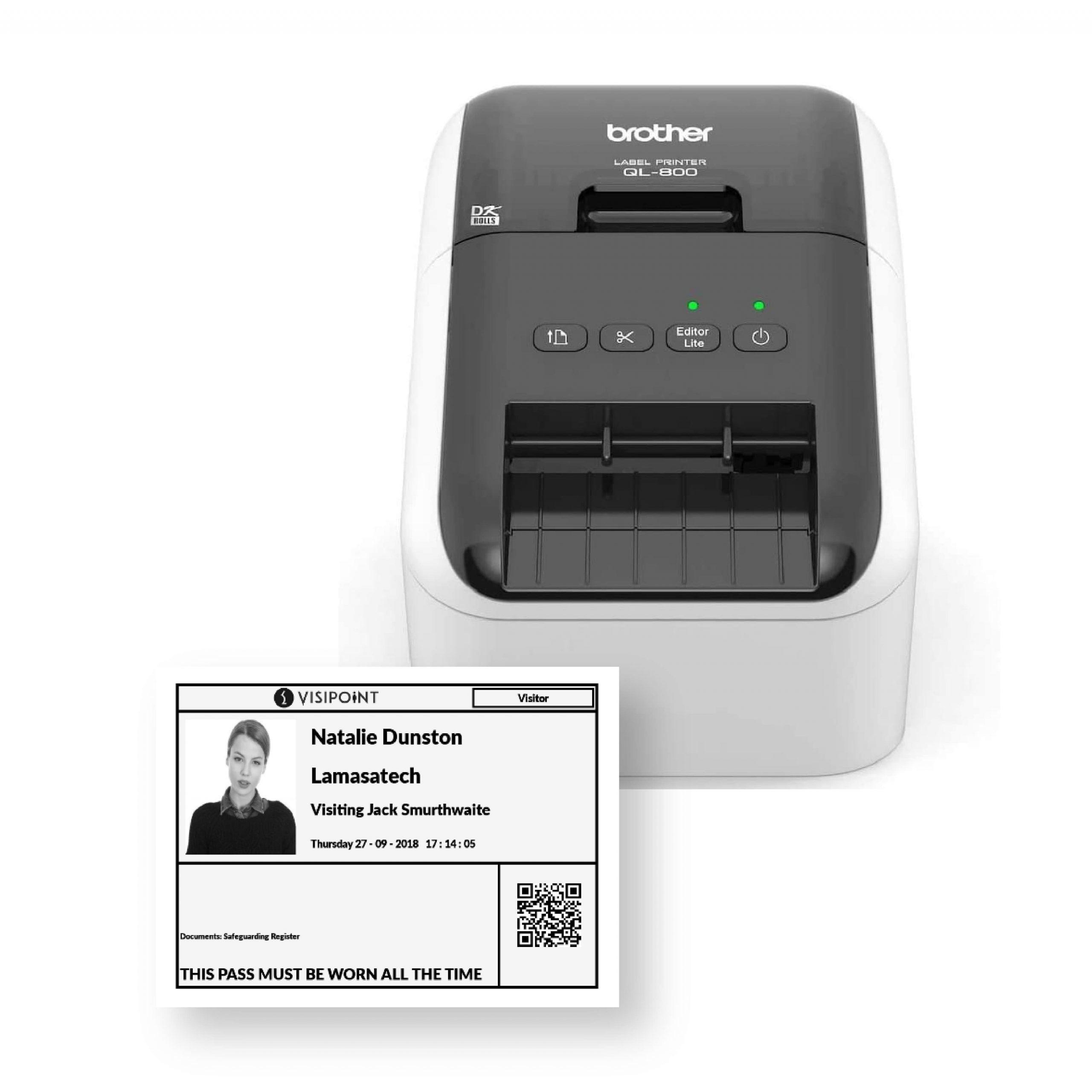 ID Badges Visitor Management System